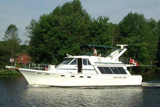 1986 Bayliner 4550 Pilothouse Motoryacht