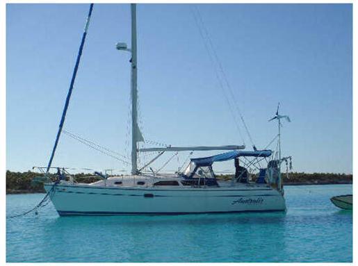 2001 Catalina 310 Sloop Sailboat
