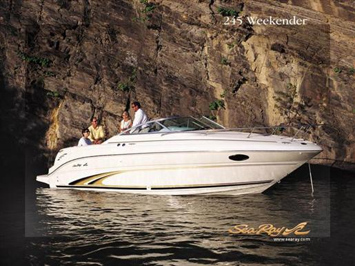 2003 Sea Ray 245 WEEKENDER