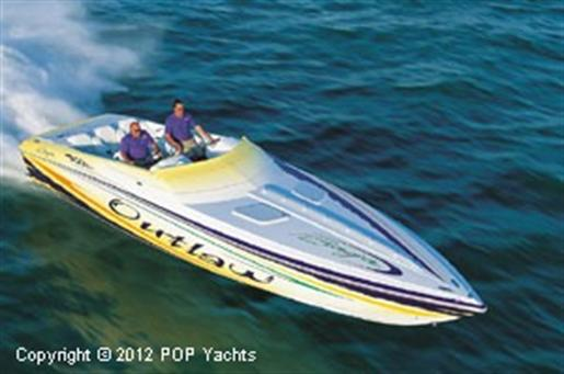 2001 Baja 36 Outlaw Poker Run Edition