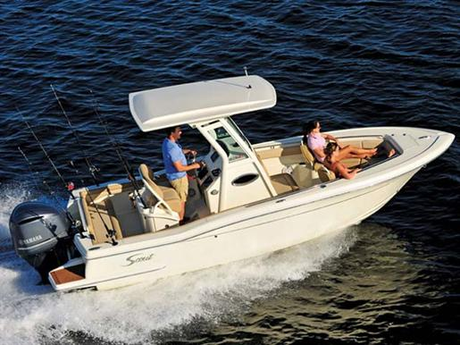 2009 Scout 245 Dorado Video Boat Test On BoatTest.ca