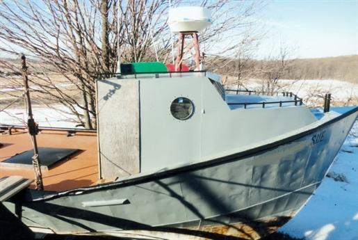 Commercial trap net fishing boat commercial trap net for Used commercial fishing boats for sale
