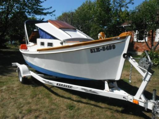 Ontario Quality Motors >> Wood/Resin Power Camp Cruiser/Canal Boat 20' Plywood/Resin Power Camp Cruiser/Canal Boat 2003 ...