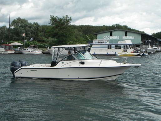 Pursuit boats for sale in ct
