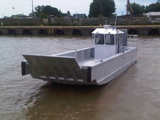 custom built new 33 39 x 11 39 aluminum landing craft lc21