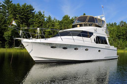 Ocean Alexander 45 Sedan Bridge 2006 Used Boat For Sale In