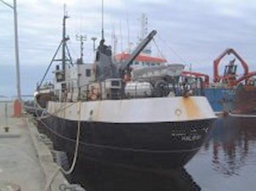 Custom built steel fishing dragger 1964 used boat for sale for Used fishing boats for sale in california