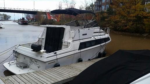 Carver 3297 Mariner 1988 Used Boat For Sale In Oakville