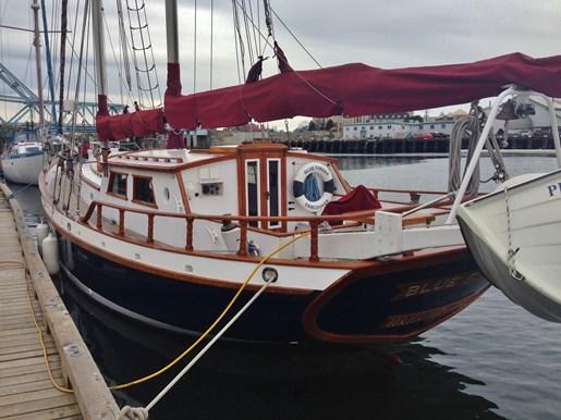 Bill garden walloon schooner 1982 used boat for sale in for 68 garden design gaff rigged schooner