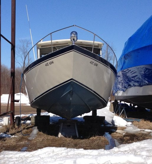 Custom Built Welded Aluminum Fishing Boat 1989 Used Boat