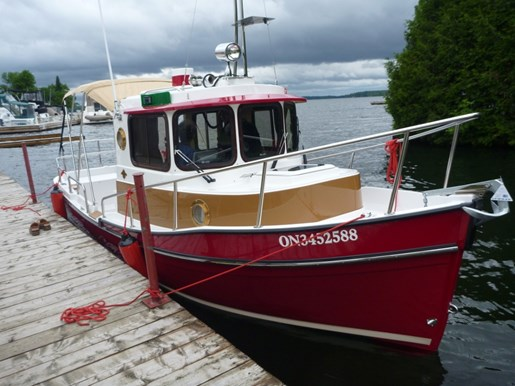 ranger tug r 21 ec 2011 used boat for sale in portland ontario boatdealers ca