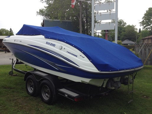 Yamaha sx210 2009 used boat for sale in lefroy ontario for Yamaha sx210 boat cover
