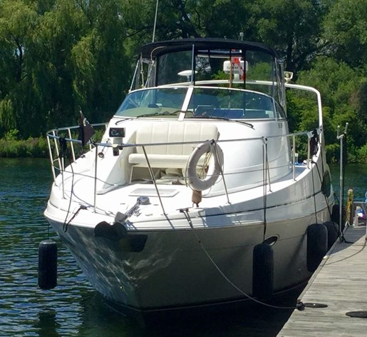 Carver 350 Mariner 2002 Used Boat for Sale in Toronto ...