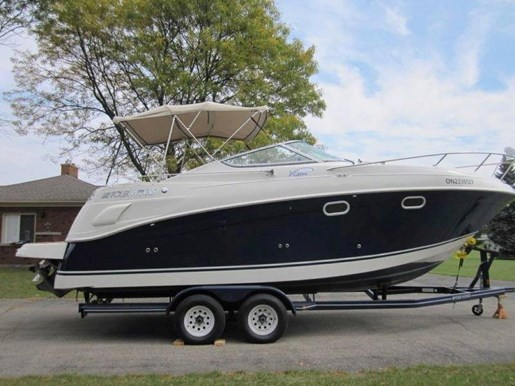 Four Winns Vista 268 With Trailer 2003 Used Boat For Sale In Kingston Ontario Boatdealers Ca