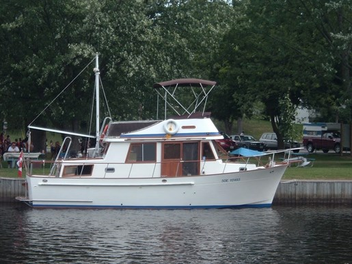 34 Double Cabin Trawler