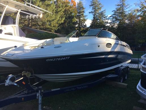 2013 Sea Ray Sundeck 260 Portland Ontario Canada 320627 Lens Cove Marina Big Rideau Lake