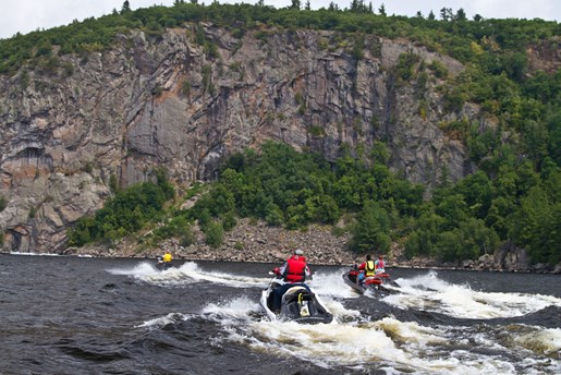PWC Touring Ottawa River