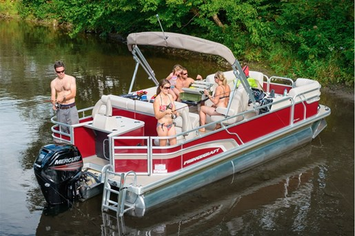 2015 princecraft sportfisher lx 23 2rs pontoon boat review