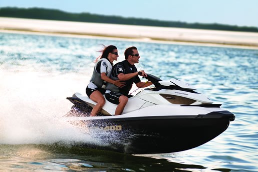 SeaDoo GTX Ltd iS Running