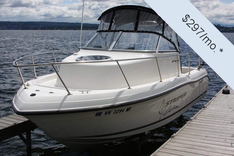 for sale 18 foot 2004 seaswirl striper fishing boat in sarasota 1