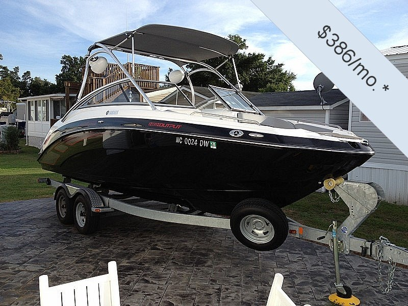 Used motor boats sale florida for Yamaha motor boats for sale