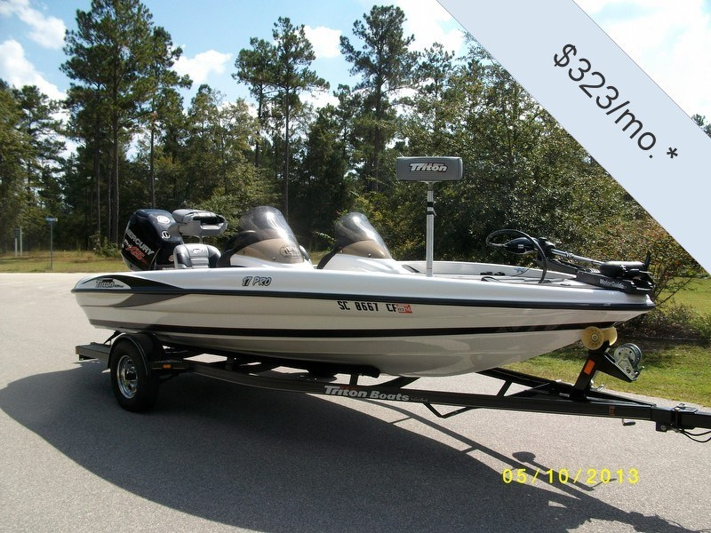 Used triton boats for sale in south carolina xc