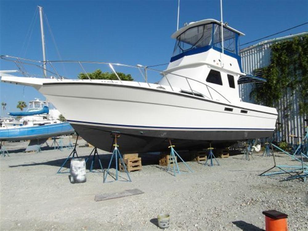 Custom sport fish diesel 1995 used boat for sale in st for Sport fishing boats for sale
