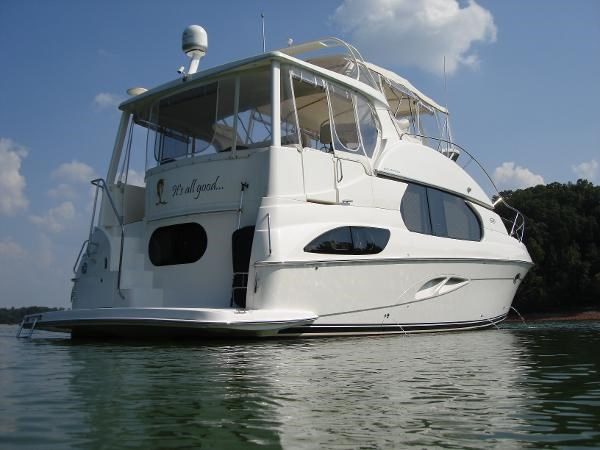 silverton 43 motor yacht 2006 used boat for sale in
