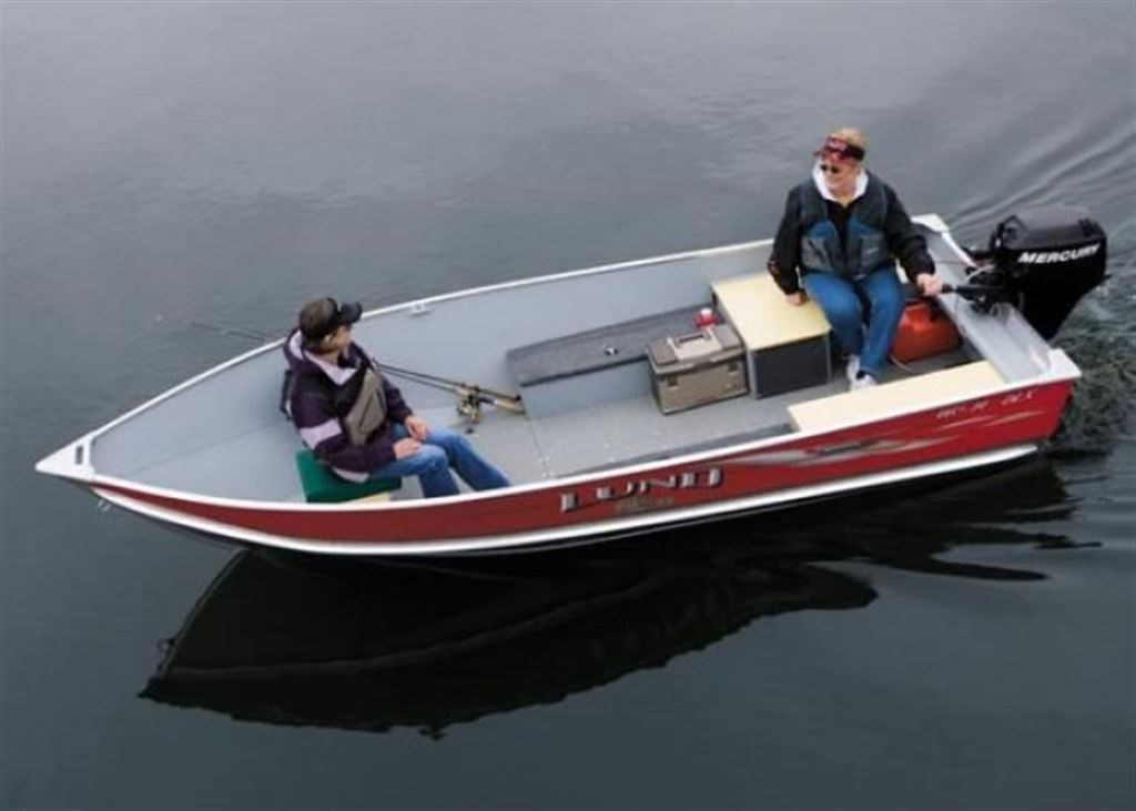 Lund boat co wc14dlx 2005 used boat for sale in sorel for Used lund fishing boats for sale