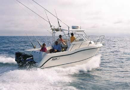 Boston Whaler 255 Conquest 2002 Used Boat For Sale In