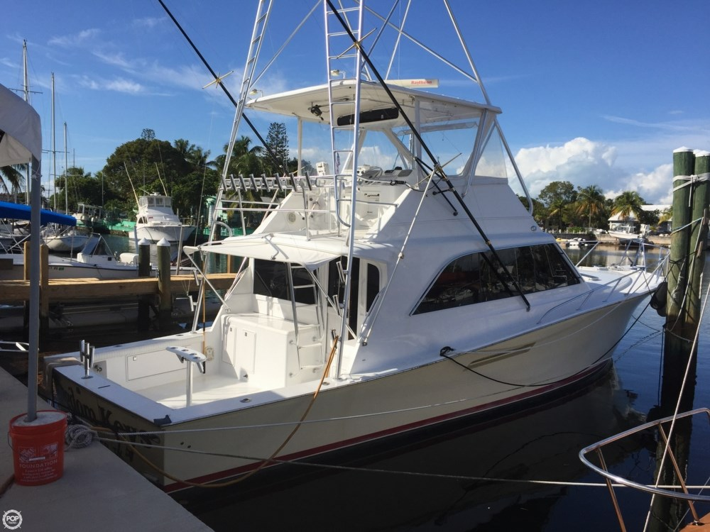 Ocean yachts 1990 used boat for sale in sarasota florida for Ocean yachts 48 motor yacht for sale