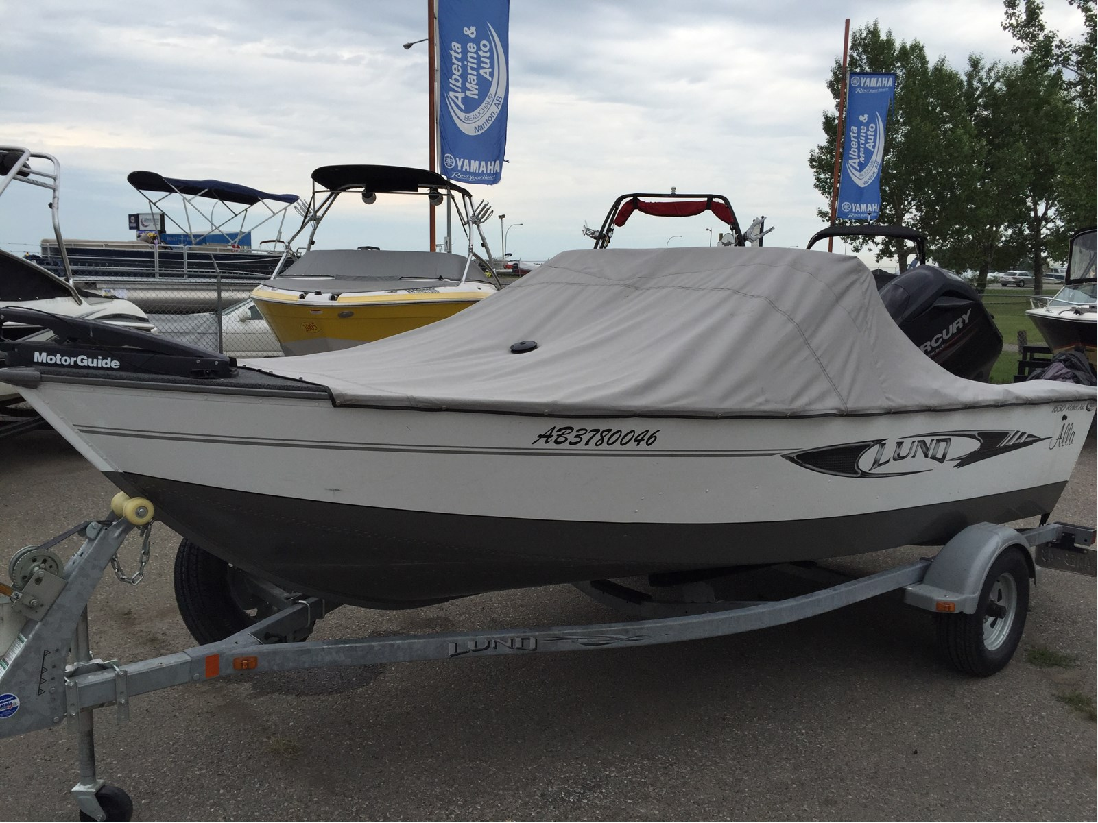 Lund 1650 rebel xl sport 2013 used boat for sale in nanton for Used lund fishing boats for sale