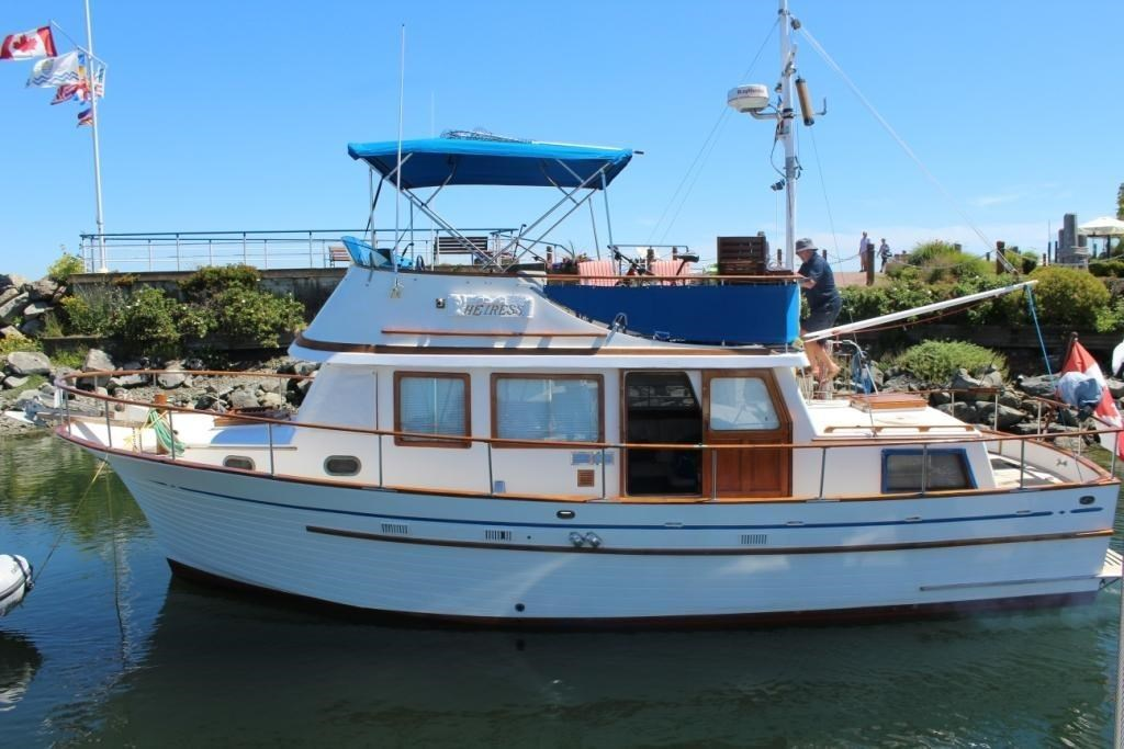 Sale Albin 36 Trawler 1981 Used Boat for Sale in West Vancouver