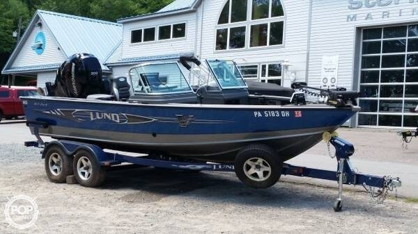 Lund 2012 used boat for sale in sarasota florida for Used lund fishing boats for sale