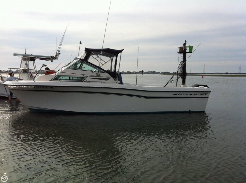 Grady white 1989 used boat for sale in sarasota florida for Grady white fishing boats