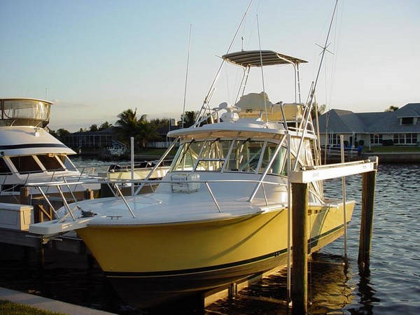 2001 luhrs 320 open express boat for sale 32 foot 2001 for Express fishing boats for sale