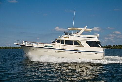 1984 Hatteras 53 Motor Yacht Boat For Sale 53 Foot 1984