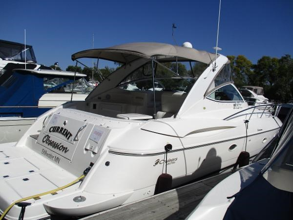 2003 cruisers yachts 3970 express boat for sale 39 foot for Boat motors for sale mn