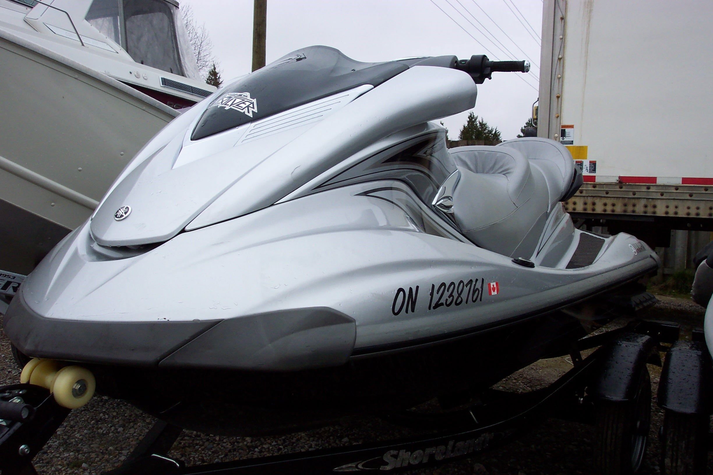 Yamaha fx cruiser ho 2008 used boat for sale in grand bend for Yamaha fx cruiser