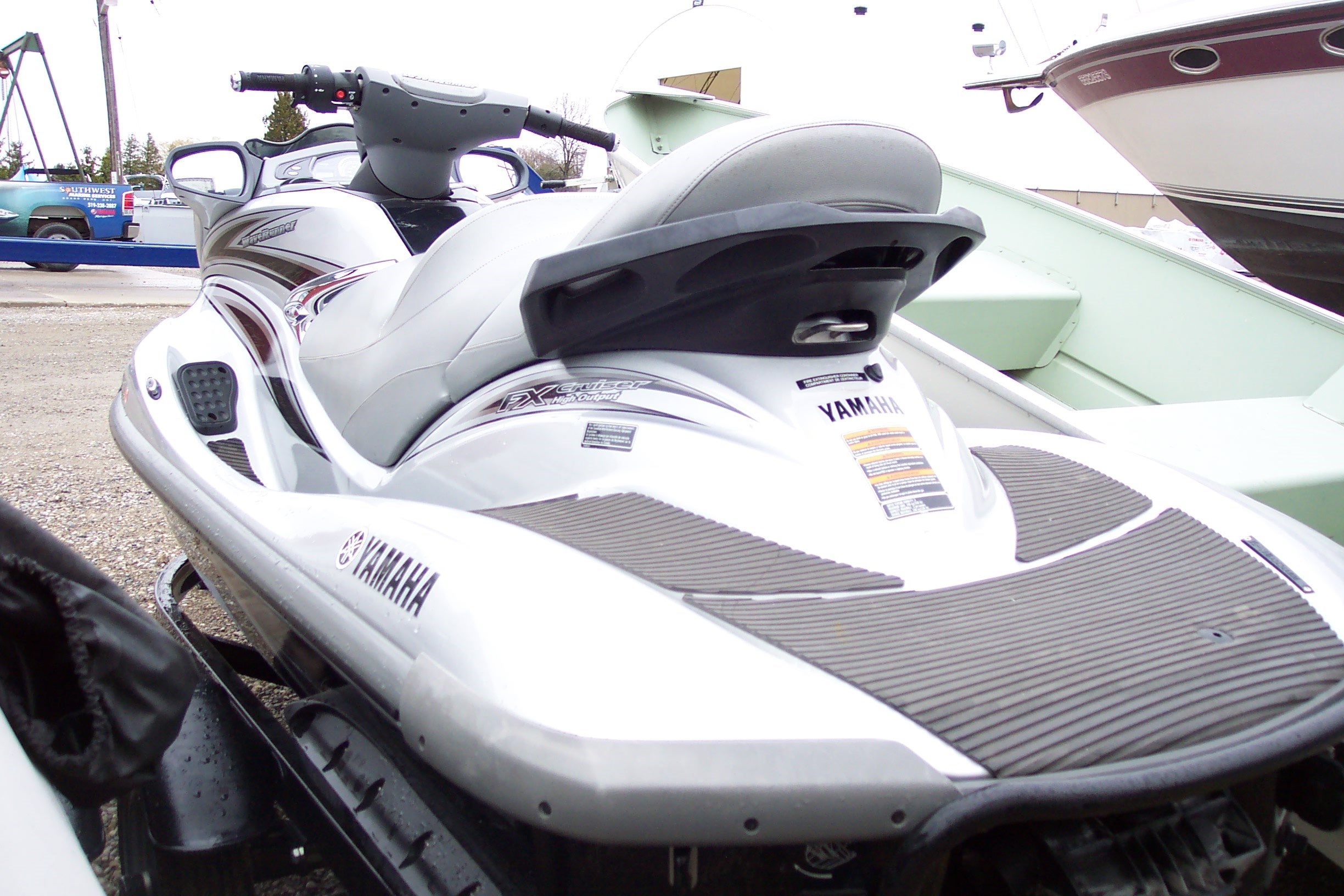 Yamaha fx cruiser ho 2008 used boat for sale in grand bend for Yamaha waverunner covers sale