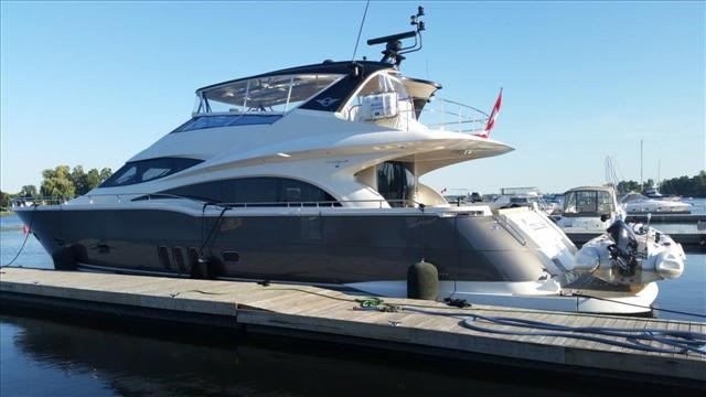 Marquis 720 Motor Yacht 2011 Used Boat For Sale In Offsite