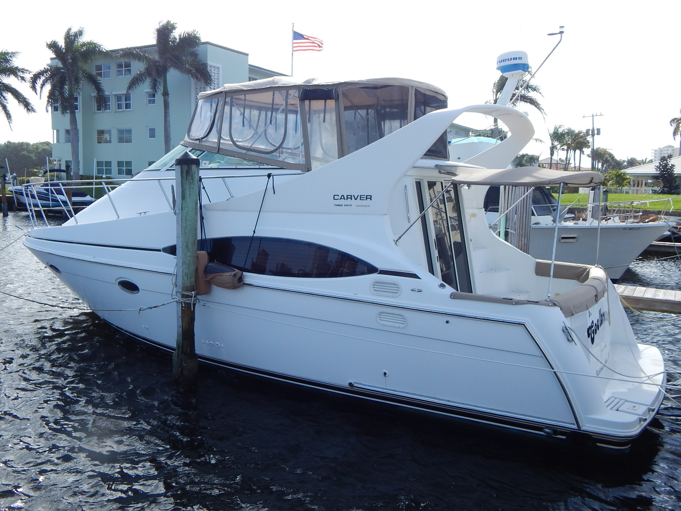 2001 CARVER 350 Mariner Boat for Sale | 35 foot 2001 ...