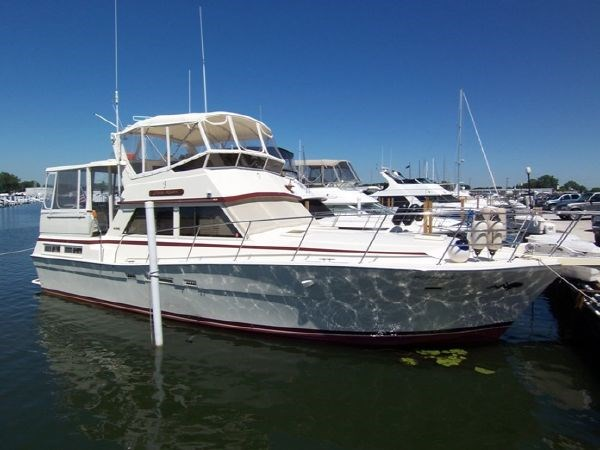 1983 Viking Motor Yacht Stk B4360 Boat For Sale 44