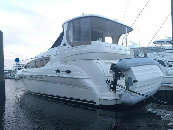 Sea ray 40 motor yacht 2006 used boat for sale in pompano for Sea ray boat motors