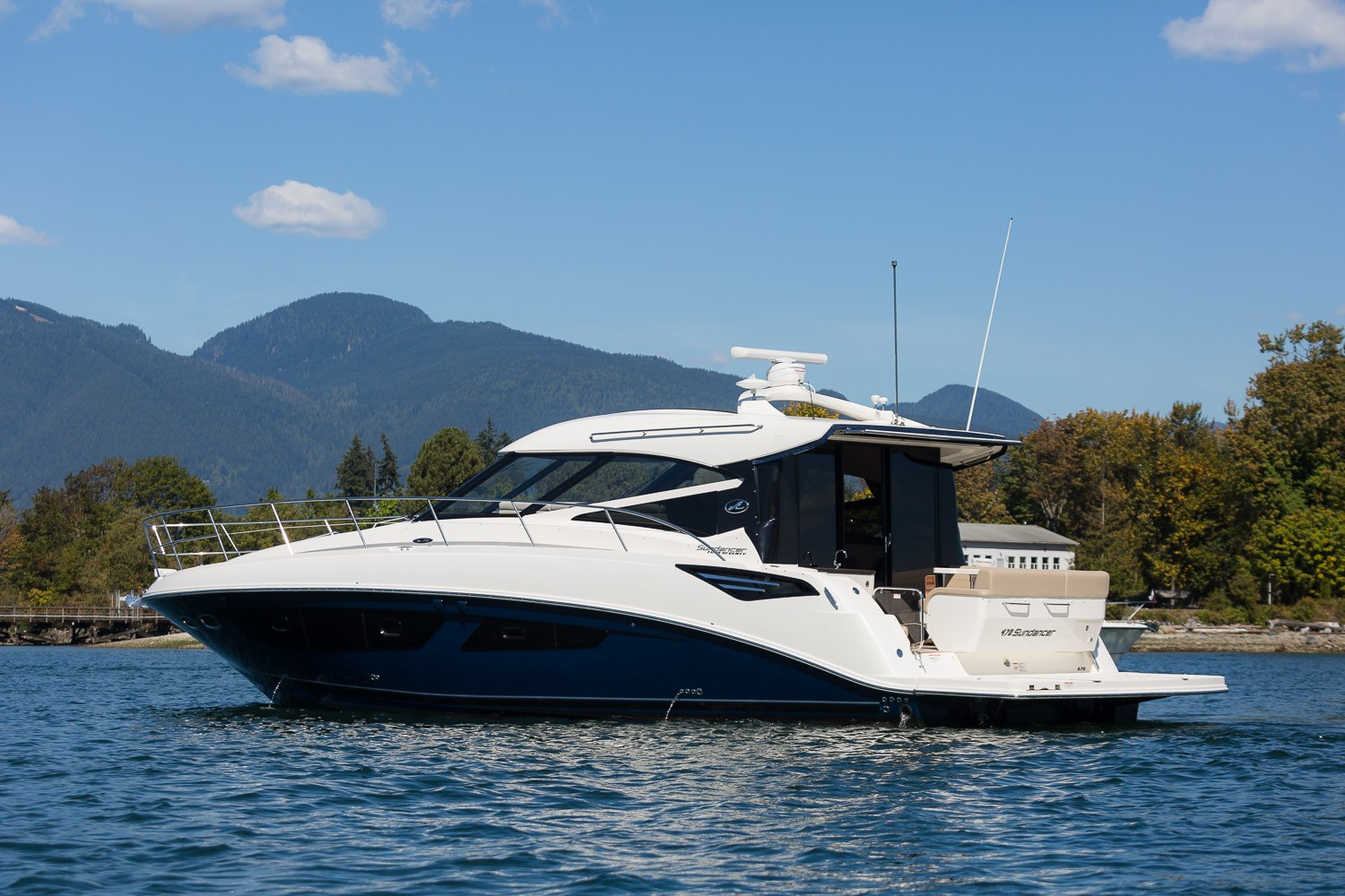 Sea Ray 470 Sundancer 2016 New Boat For Sale In Vancouver