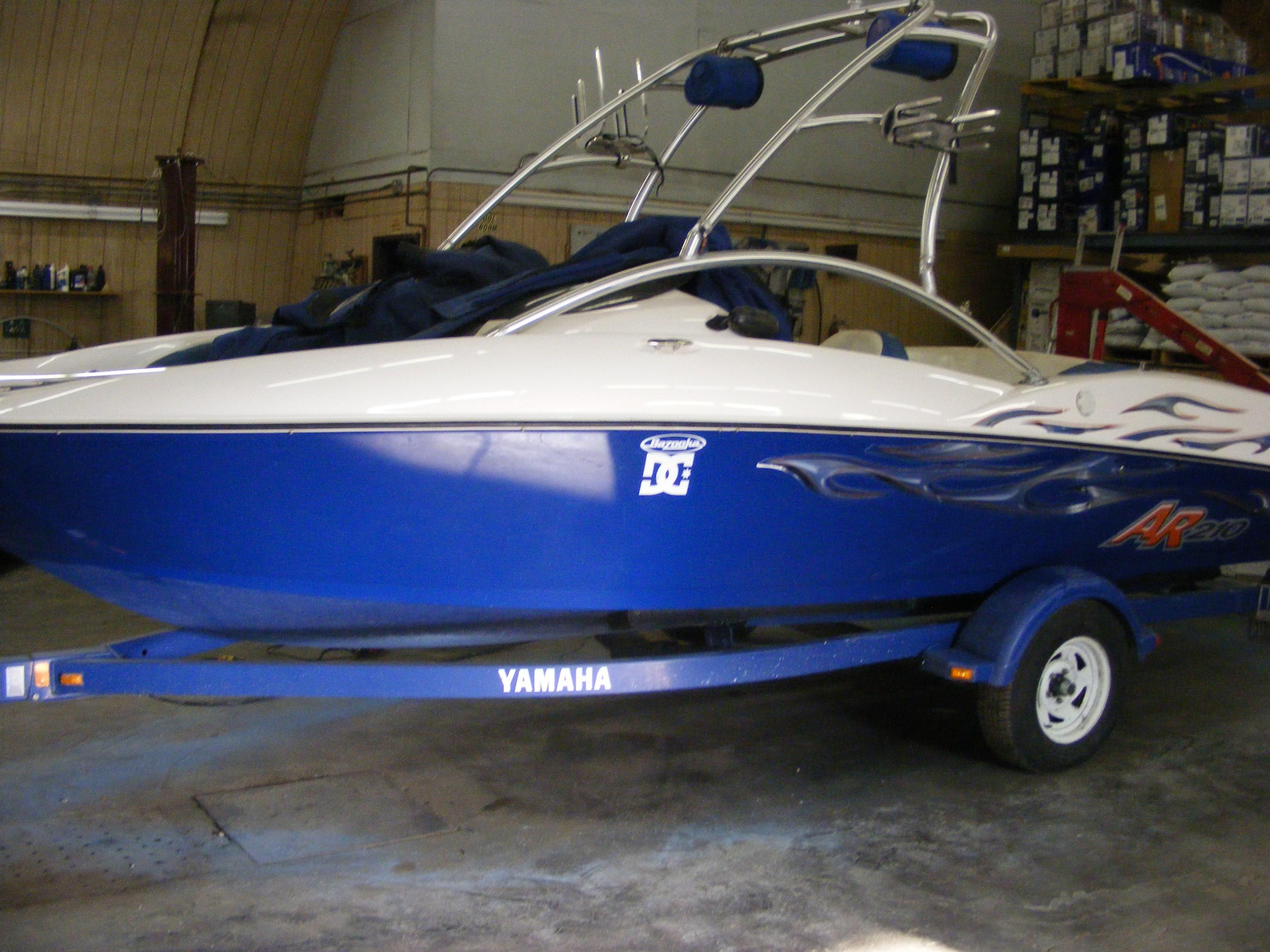 Yamaha ar219 2003 used boat for sale in nanton alberta for Yamaha dealers in arkansas