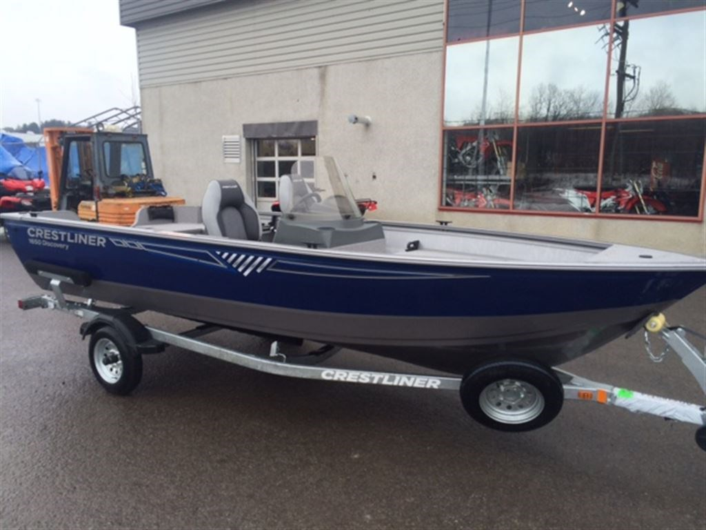 Crestliner Discovery 1650 Sc 2016 New Boat For Sale In