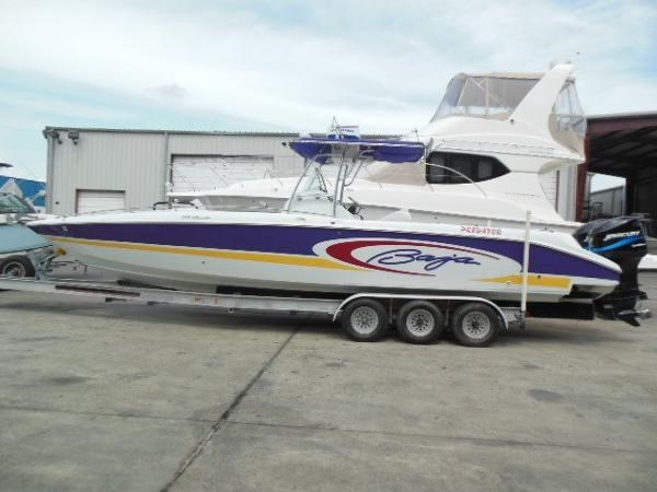 2002 baja 34 sportfish boat for sale 34 foot 2002 baja for Fishing boats for sale in texas