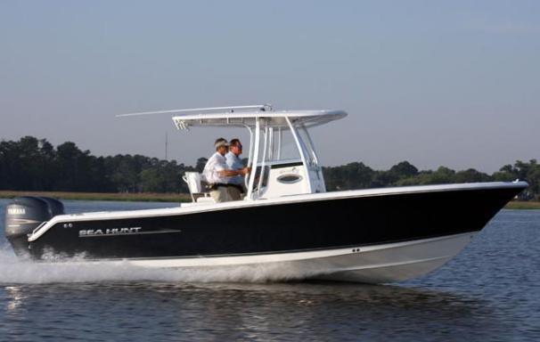 2014 sea hunt gamefish 25 boat for sale 2014 sea hunt for Used boat motors panama city fl