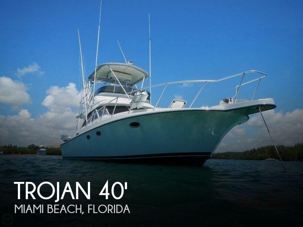Trojan 1988 used boat for sale in sarasota florida for Used fishing boats for sale in florida